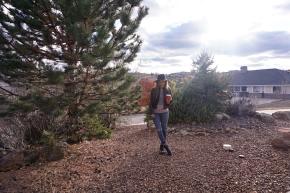 Fringe, Leather and ArizonaSky
