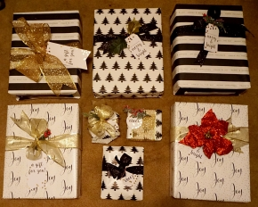 Gift Wrapping Update +Giveaway