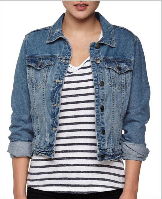 Classic Denim Jacket $45